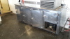 2.5m stainless steel counter fridge